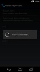 Motorola Moto X (2ª Gen) - Red - Seleccionar una red - Paso 9