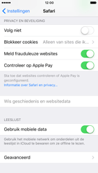 Apple iPhone 7 (Model A1778) - Privacy - Cookies en geschiedenis wissen - Stap 6