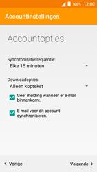 Alcatel OneTouch POP 3 (5) 3G (OT-5015X) - E-mail - Handmatig instellen - Stap 22