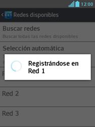 LG Optimus L3 II - Red - Seleccionar una red - Paso 9