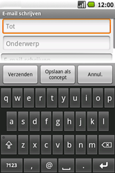 Samsung I5700 Galaxy Spica - E-mail - hoe te versturen - Stap 6