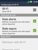 Motorola Master XT605 - Wi-Fi - Como configurar uma rede wi fi - Etapa 6