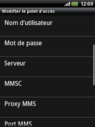 HTC A3333 Wildfire - Mms - Configuration manuelle - Étape 9
