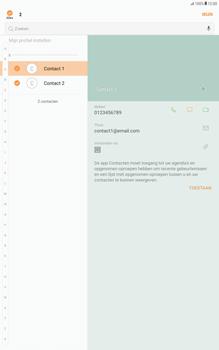 Samsung Galaxy Tab A 10.1 - Android Nougat - Contacten en data - Contacten overzetten via Bluetooth - Stap 7