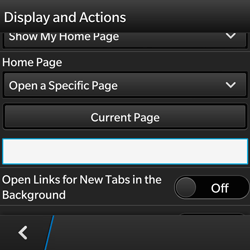 BlackBerry Q5 - Internet - Manual configuration - Step 19
