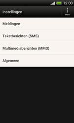 HTC C525u One SV - SMS - handmatig instellen - Stap 6