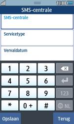 Samsung S5250 Wave 525 - SMS - handmatig instellen - Stap 8