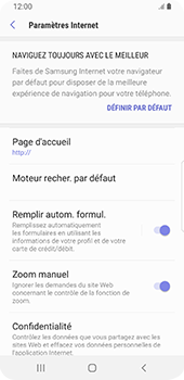 Samsung Galaxy S9 Android Pie - Internet - configuration manuelle - Étape 30