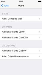 Apple iPhone iOS 7 - Email - Como configurar seu celular para receber e enviar e-mails - Etapa 6