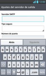 LG Optimus L5 II - E-mail - Configurar correo electrónico - Paso 12