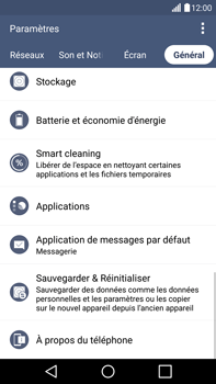 LG G4 - Applications - Supprimer une application - Étape 5
