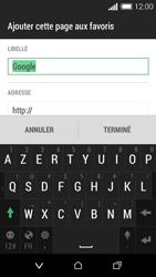 HTC Desire 510 - Internet et connexion - Naviguer sur internet - Étape 10