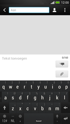 HTC One - MMS - Afbeeldingen verzenden - Stap 3