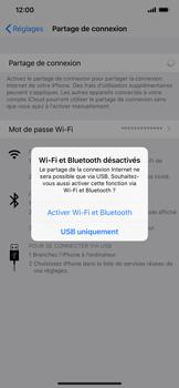 Apple iPhone XS Max - Internet et connexion - Utiliser le mode modem par USB - Étape 7