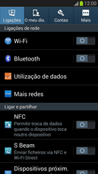 Samsung Galaxy S3 - Internet no telemóvel - Configurar ligação à internet -  4