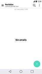 LG K10 (2017) - E-mail - Configurar correo electrónico - Paso 4