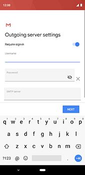 Google Pixel 3XL - Email - Manual configuration IMAP without SMTP verification - Step 15