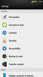 HTC One - Device - Reset to factory settings - Step 5