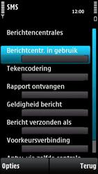 Nokia X6-00 - SMS - handmatig instellen - Stap 9