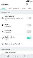 LG G5 - Segurança - Como ativar o código de bloqueio do ecrã -  3