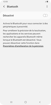 Samsung Galaxy S9 Plus - Android Pie - Bluetooth - connexion Bluetooth - Étape 8