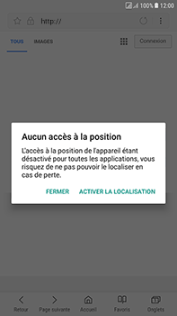 Samsung Galaxy J7 (2017) - Internet - Navigation sur internet - Étape 7