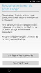 Sony Xpéria T3 - Premiers pas - Créer un compte - Étape 17
