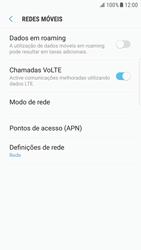 Samsung Galaxy S6 Edge - Android Nougat - Internet no telemóvel - Como configurar ligação à internet -  8