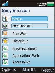 Sony Ericsson W595 - Internet - Configuration manuelle - Étape 4
