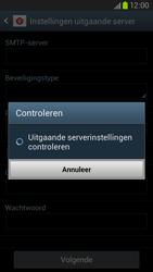 Samsung I9305 Galaxy S III LTE - E-mail - Account instellen (IMAP zonder SMTP-verificatie) - Stap 15