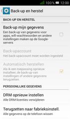 Alcatel One Touch POP D5 (OT-5038X) - Instellingen aanpassen - Fabrieksinstellingen terugzetten - Stap 5