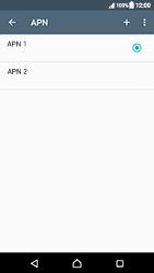 Sony Xperia XZ (F8331) - Mensajería - Configurar el equipo para mensajes multimedia - Paso 16