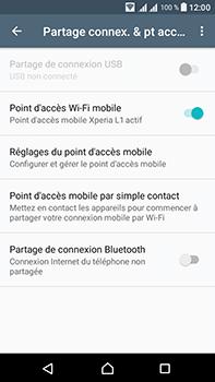 Sony Xperia L1 - Internet et connexion - Partager votre connexion en Wi-Fi - Étape 12