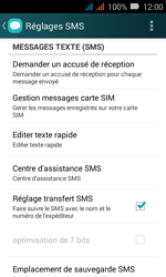 Huawei Y3 - SMS - Configuration manuelle - Étape 6