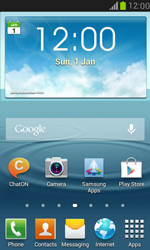 Samsung I8190 Galaxy S III Mini - Network - Manually select a network - Step 1