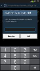 Samsung Galaxy S4 Mini - Sécuriser votre mobile - Personnaliser le code PIN de votre carte SIM - Étape 10