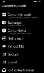 Nokia Lumia 530 - Email - Adicionar conta de email -  6