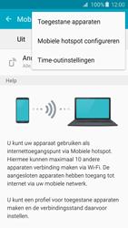 Samsung Galaxy S6 Edge - WiFi - Mobiele hotspot instellen - Stap 7