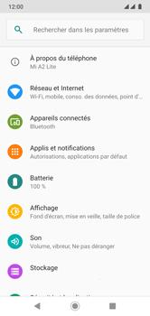Xiaomi Mi A2 Lite - Wifi - configuration manuelle - Étape 3