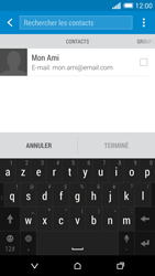 HTC One M8 - E-mail - Envoi d