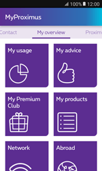 Samsung Galaxy Xcover 3 VE - Applications - MyProximus - Step 11