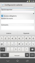 Sony Xperia Z1 - E-mail - Configurar correo electrónico - Paso 13