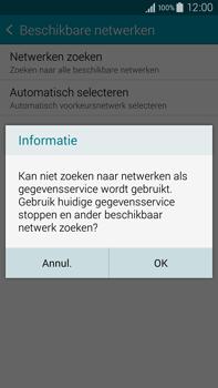 Samsung N910F Galaxy Note 4 - Bellen - in het buitenland - Stap 7