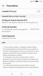 Huawei P10 Lite - Internet et connexion - Partager votre connexion en Wi-Fi - Étape 9