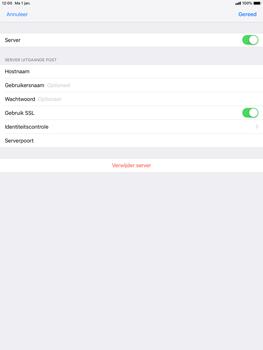 Apple ipad-pro-10-5-inch-ios-12 - E-mail - Account instellen (POP3 zonder SMTP-verificatie) - Stap 18