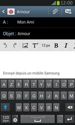 Samsung S7710 Galaxy Xcover 2 - E-mail - envoyer un e-mail - Étape 8