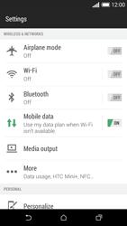 HTC Desire 610 - Internet - Activer ou désactiver - Étape 4