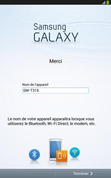Samsung Galaxy Tab 3 8 4G - Premiers pas - Créer un compte - Étape 31