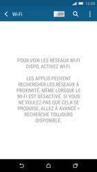 HTC One M9 - Wifi - configuration manuelle - Étape 4