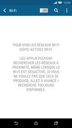 HTC One M9 - Internet et connexion - Accéder au réseau Wi-Fi - Étape 5